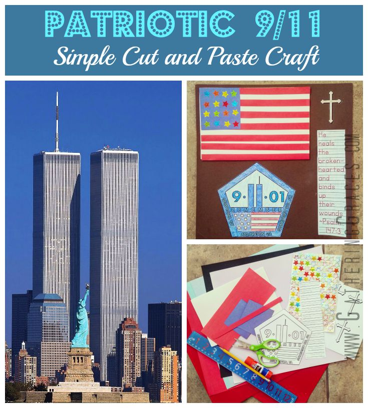 patriot day 9/11 craft for kids