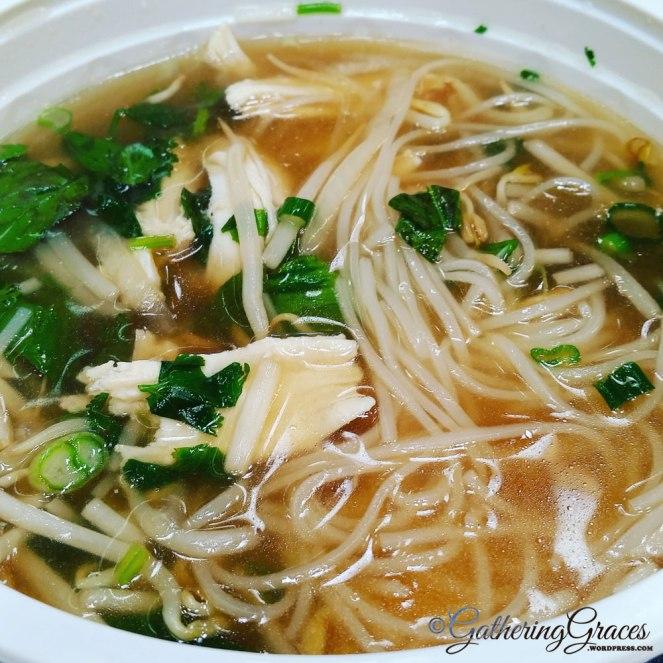 tet pho noodles